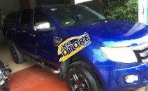 Bán Ford Ranger XLT đời 2014, màu xanh lam, xe nhập số sàn