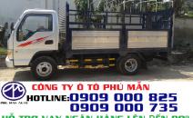 Giá xe tải Jac 2T4 vào được thành phố ban ngày | Xe tải Jac 2T4 thùng bạt