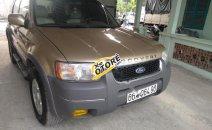 Cần bán Ford Escape XLT đời 2003, màu vàng cát, số tự động, giá chỉ 165 triệu