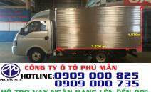Xe tải Jac 1250kg| Xe tải Jac X125 ( máy dầu) giá cực tốt