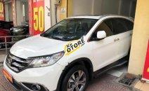 Bán Honda CR V 2.4 AT đời 2014, màu trắng