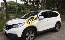 Bán ô tô Honda CR V 2.4 AT đời 2014, màu trắng