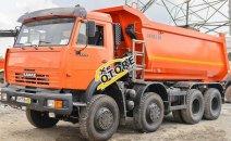 Bán xe Kamaz Ben Kamaz 6540 năm 2016, màu cam, nhập khẩu nguyên chiếc