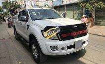 Bán Ford taỉ Ranger XLT 2014, hai cầu, máy dầu, màu trắng, xe zin cực đẹp