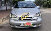 Gia đình bán Chevrolet Vivant, 7 chỗ ngồi, sản xuất năm 2008, số sàn, màu bạc, biển số thành phố