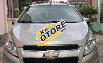 Bán lại Chevrolet Spark LT sản xuất năm 2014, màu bạc, số sàn