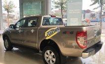 Bán Ford Ranger XLT 4x4 2018, màu ghi vàng, nhập khẩu, giá chỉ từ 754tr - ĐT 0969921094