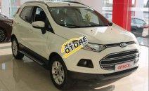 Cần bán xe Ford EcoSport 1.5AT sản xuất 2014, màu trắng