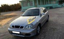 Cần bán lại xe Daewoo Lanos SX đời 2001, màu bạc