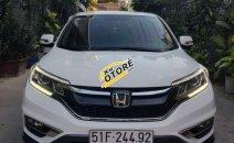 Bán ô tô Honda CR V 2.0 năm sản xuất 2015, màu trắng, bao kiểm tra tại hãng