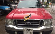 Cần bán xe Ford Ranger XLT đăng ký lần đầu 2005, màu đỏ nhập khẩu nguyên chiếc