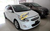 Bán Hyundai Accent AT năm 2012, màu trắng, nhập khẩu nguyên chiếc, xe đẹp keng