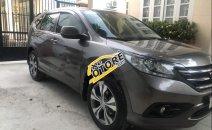 Bán Honda CR V 2.4 đời 2013, màu xám, mới đi được 65.000 km