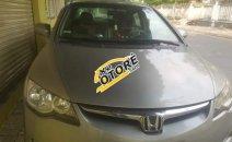 Bán xe Honda Civic 1.8 đời 2008, màu bạc số sàn, giá tốt