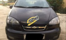 Cần bán lại xe Chevrolet Vivant CDX 2008, màu đen