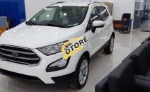Bán xe Ford EcoSport Trend AT năm sản xuất 2019, màu trắng, giao ngay, nhiều khuyến mãi hấp dẫn