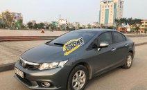 Bán Honda Civic 1.8 số tự động, sản xuất năm 2012, màu xám, nội thất màu kem, đã đi 88000 km