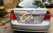 Bán Chevrolet Aveo LT số tay 5 chỗ, đăng ký 2016, màu bạc