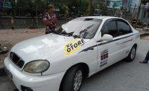 Bán Daewoo Lanos màu trắng, xe 5 chỗ, đời 2001