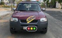 Cần bán Ford Escape đời 2002 số tự động, màu đỏ