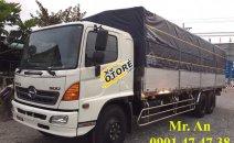 Xe tải Hino FL 3 chân, ga cơ, thùng nhôm siêu dài, mới 100%, LH: 0901 47 47 38