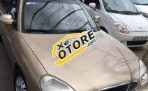 Bán xe Daewoo Nubira II đời 2001, màu vàng cát, biển số 92