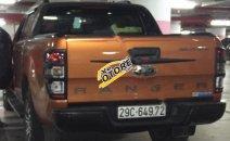 Bán Ford Ranger Wildtrack sản xuất năm 2016, màu vàng, nhập khẩu chính chủ