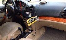 Cần bán lại xe Daewoo Gentra MT 2008, màu đen, biển 5 số Hải Phòng