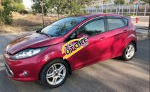 Bán Ford Fiesta 1.6 AT 2011, màu đỏ xe gia đình