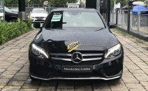 Mercedes C300 AMG đen chạy ít, xe hãng bán