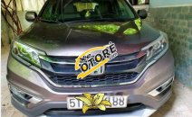 Bán Honda CR V 2.0 2015, màu xám, xe gia đình