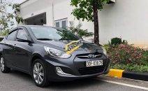 Cần bán lại xe Hyundai Accent AT 2012, màu xám, xe nhập chính chủ