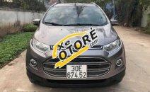 Bán Ford EcoSport 1.5 AT đời 2014, màu xám, chính chủ