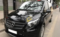 Trung Sơn Auto bán xe Mercedes VITO Tourer 121 màu đen, model 2017 - đăng ký 2017, đã chạy 30.000km