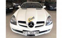HCM Mercedes SLK 200, màu trắng, xe nhập, trả trước chỉ từ 285 triệu