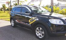Bán xe Chevrolet Captiva LT đời 2008, màu đen như mới