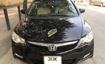 Cần bán Honda Civic 1.8 MT năm sản xuất 2008, màu đen