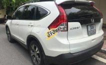 Cần bán Honda CR V 2.4AT đời 2014, màu trắng, xe gia đình