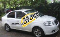 Cần bán lại xe Daewoo Gentra MT 2008, màu trắng xe gia đình