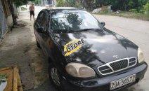 Cần bán lại xe Daewoo Lanos MT sản xuất 2001, màu đen