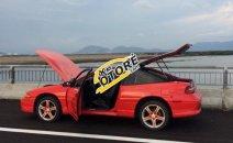 Bán ô tô Mitsubishi Eclipse Sport 1992, màu đỏ, xe thể thao 2 cửa
