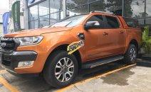 Bán Ford Ranger Wildtrak 3.2L năm 2015, màu cam, xe nhập