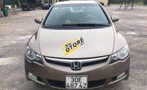 Cần bán Honda Civic 1.8AT 2010, màu vàng, xe chất đi cực ít