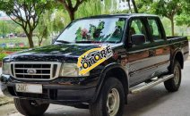 Bán xe Ford Ranger XL 4x4 MT 2004, màu đen, giá chỉ 160 triệu