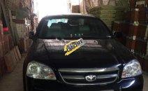 Bán Daewoo Lacetti EX năm sản xuất 2011, màu đen, số sàn