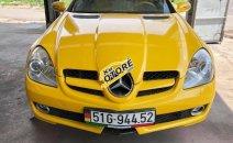 Bán Mercedes SLK350 2008, màu vàng, nhập khẩu