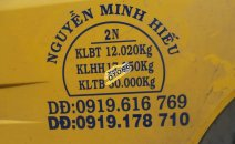 Ngân hàng thanh lý Bán ô tô Dongfeng (DFM) 17,850T sản xuất 2015, màu vàng, xe đấu giá nên giá tốt 650 triệu đồng