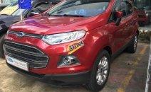 Bán Ford EcoSport Titanium sản xuất năm 2014, màu đỏ, hỗ trợ vay 75%
