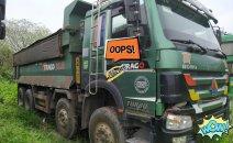 Ngân hàng bán đấu giá xe tải tự đổ Howo sx 2016