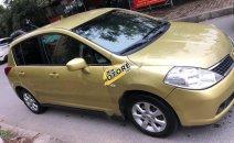 Bán xe Nissan Tiida năm sản xuất 2008, màu vàng, nhập khẩu